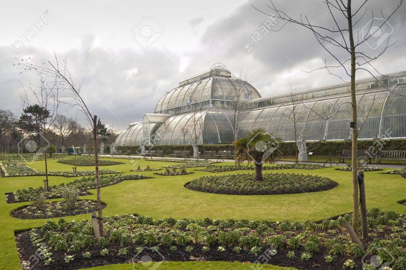 Kew Gardens, London. The Royal Botanic Gardens, Kew, usually..
