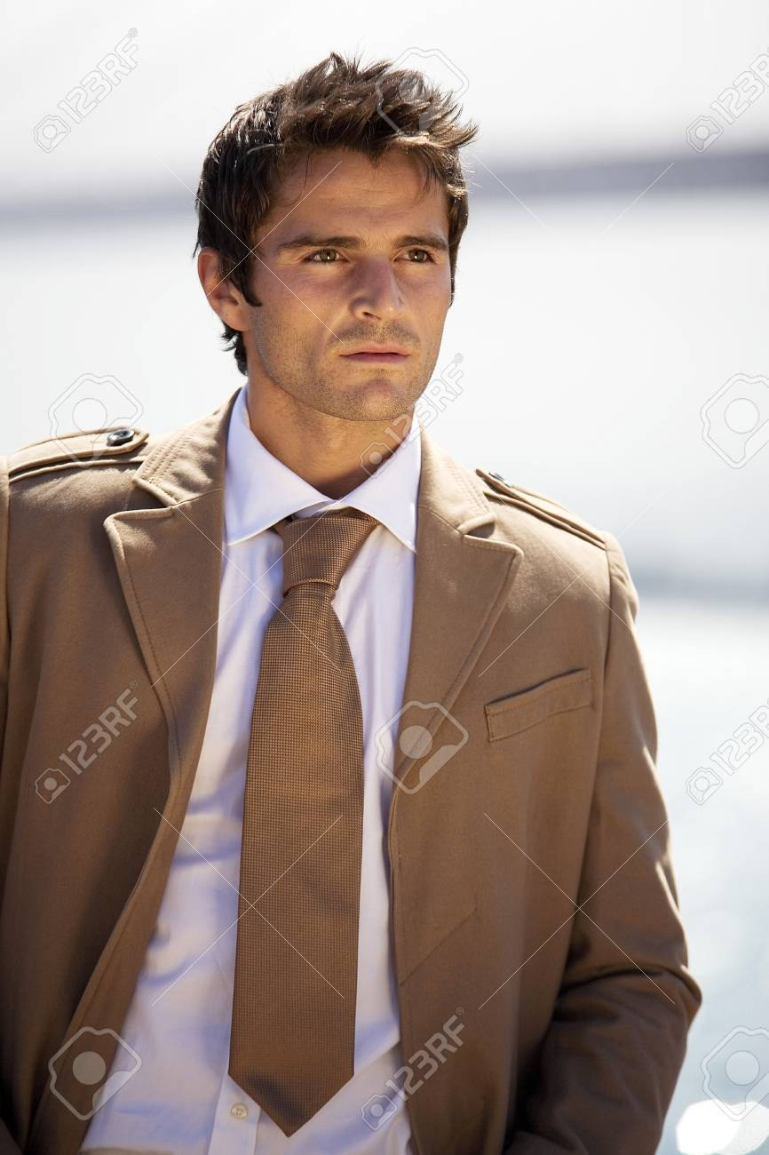 Businessman looking away Stock Photo - 3194251