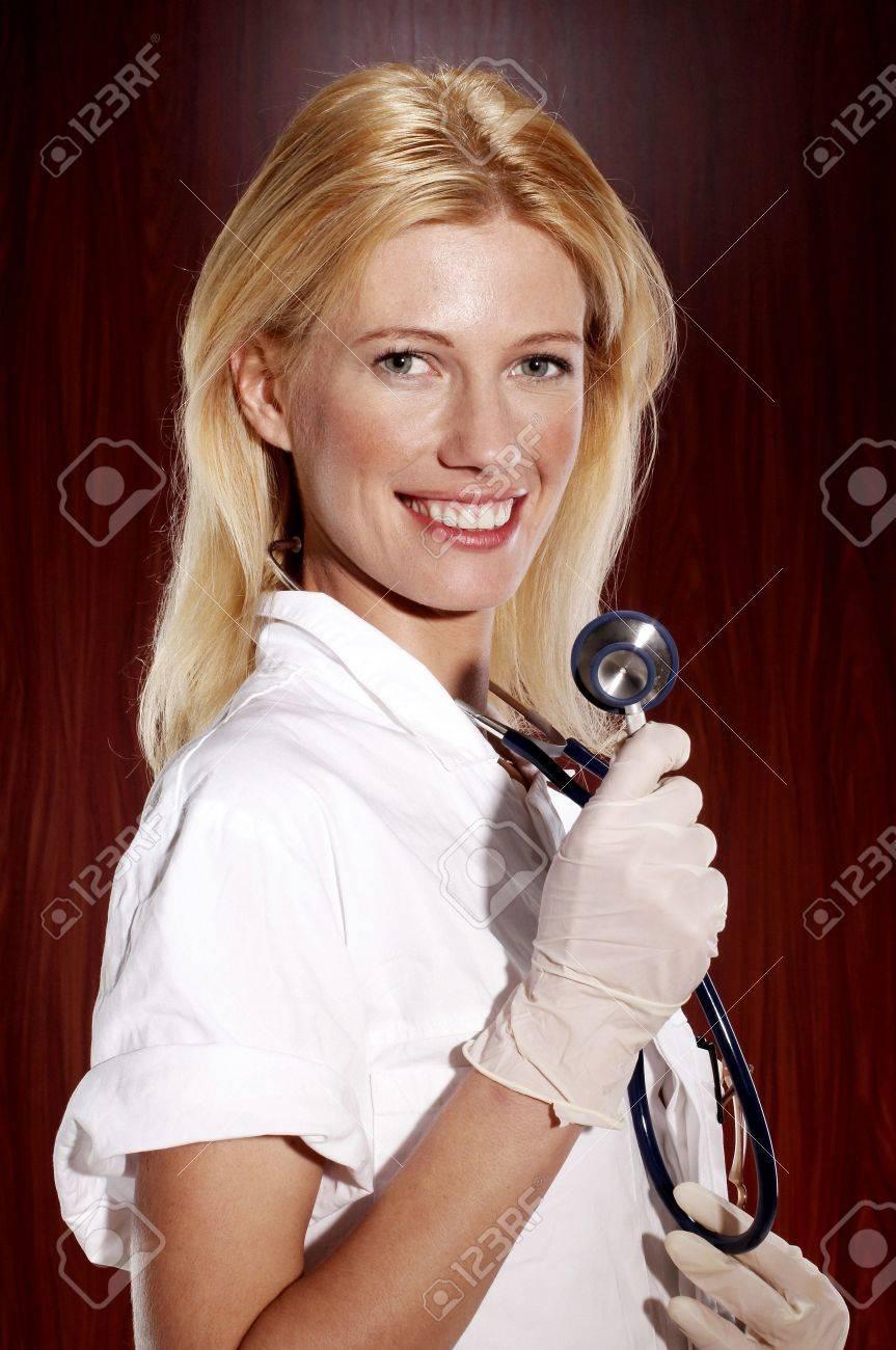 Female doctor. Stock Photo - 3192353
