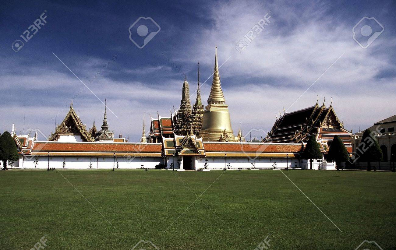 Royal Palace (Wat Phra Kaew), Bangkok, Thailand. Stock Photo - 3190902