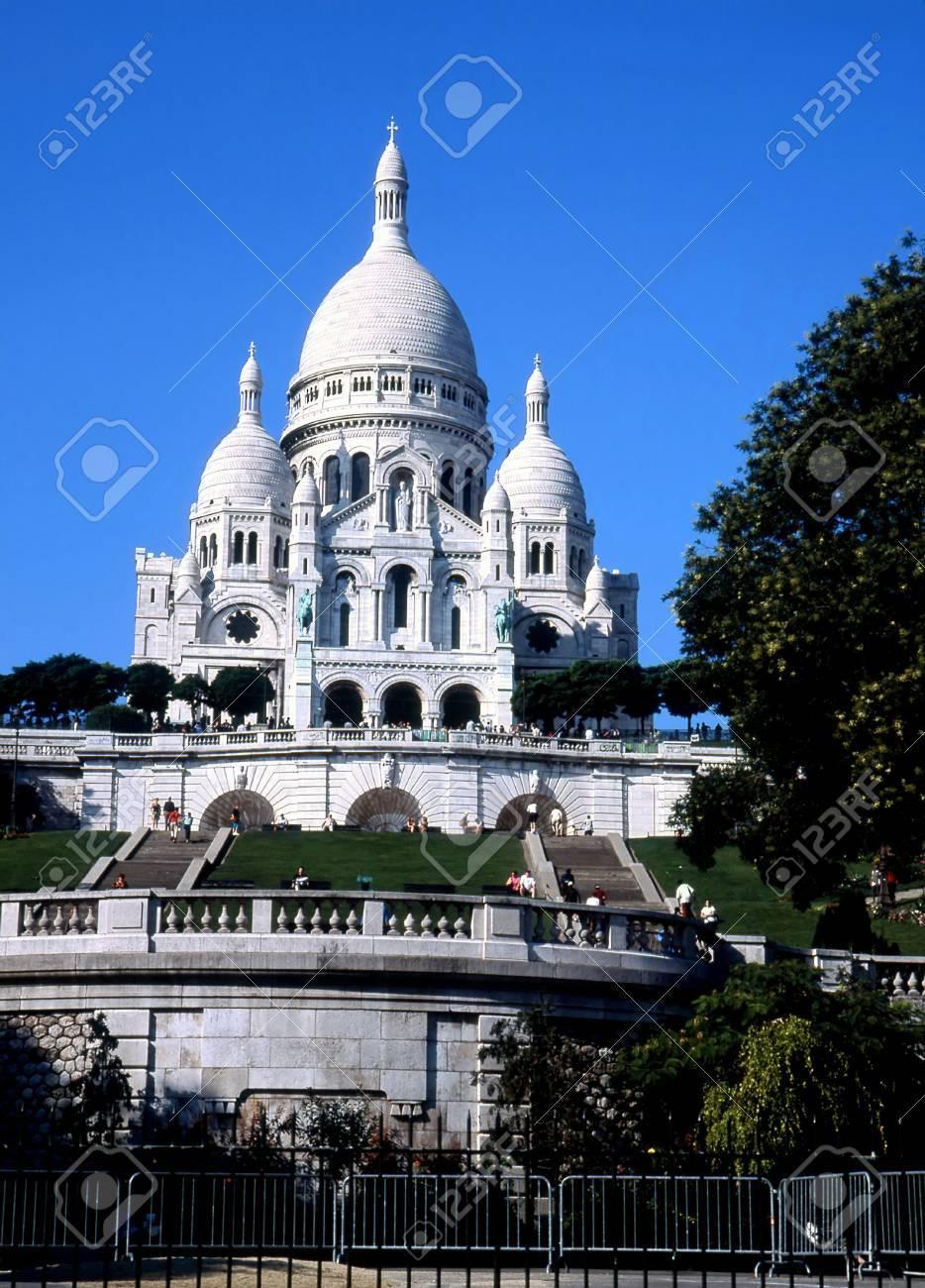 Basilica of Sacré Cœur, Paris, France. Stock Photo - 3190982