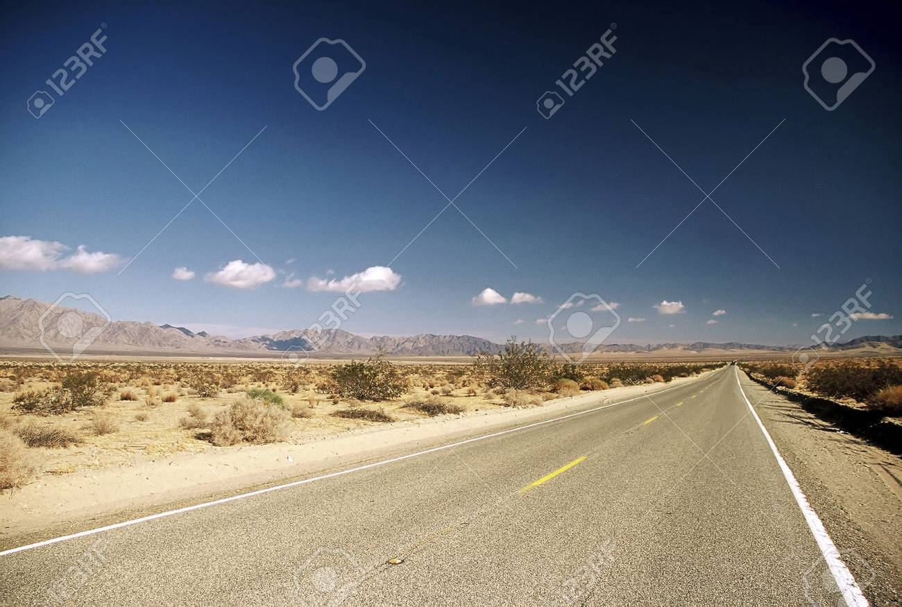 Highway in the United States. Stock Photo - 3191129