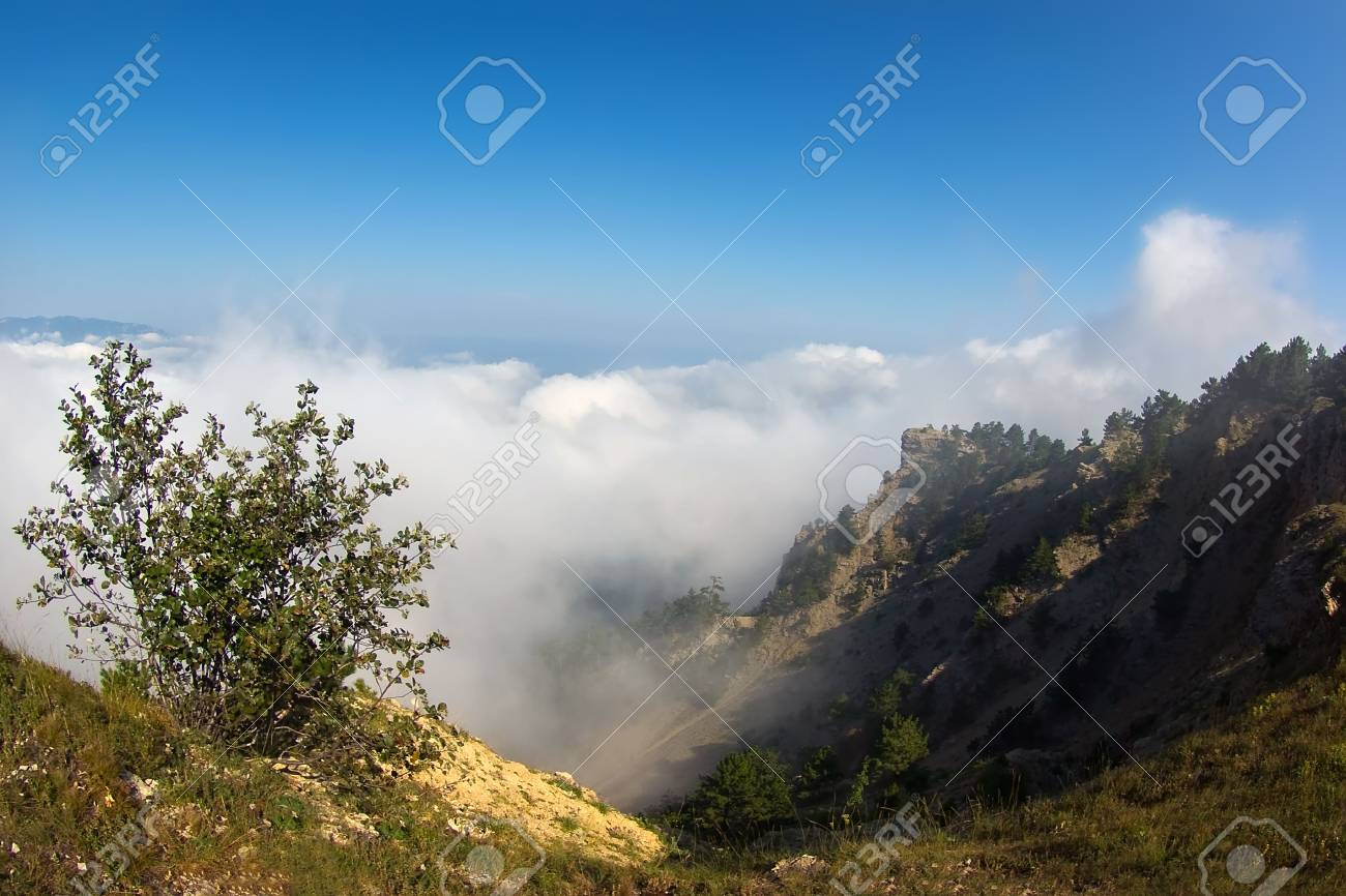 Walking in the clouds Stock Photo - 7899050