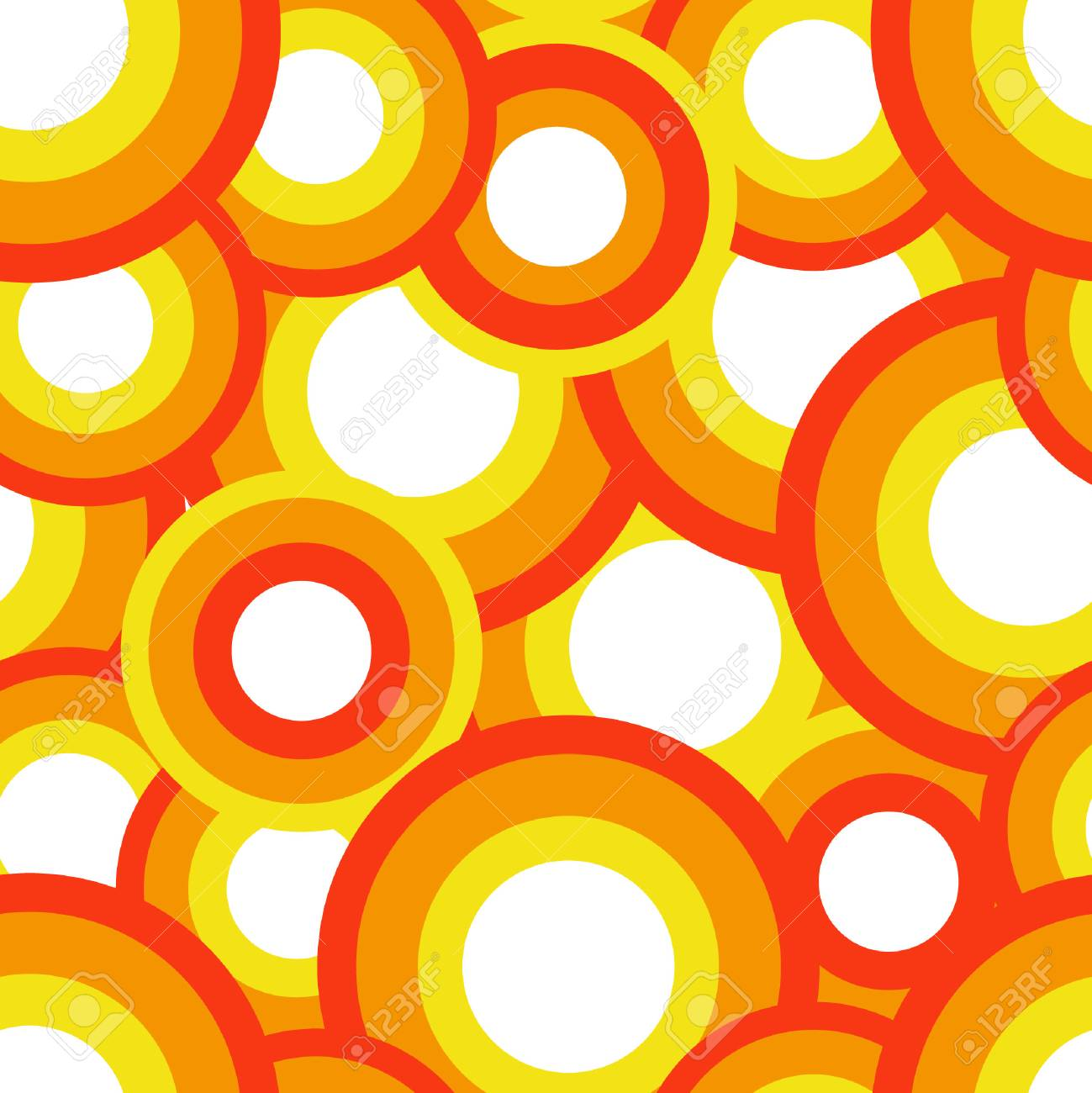 Seamless vector texture with circles Stock Vector - 2384873
