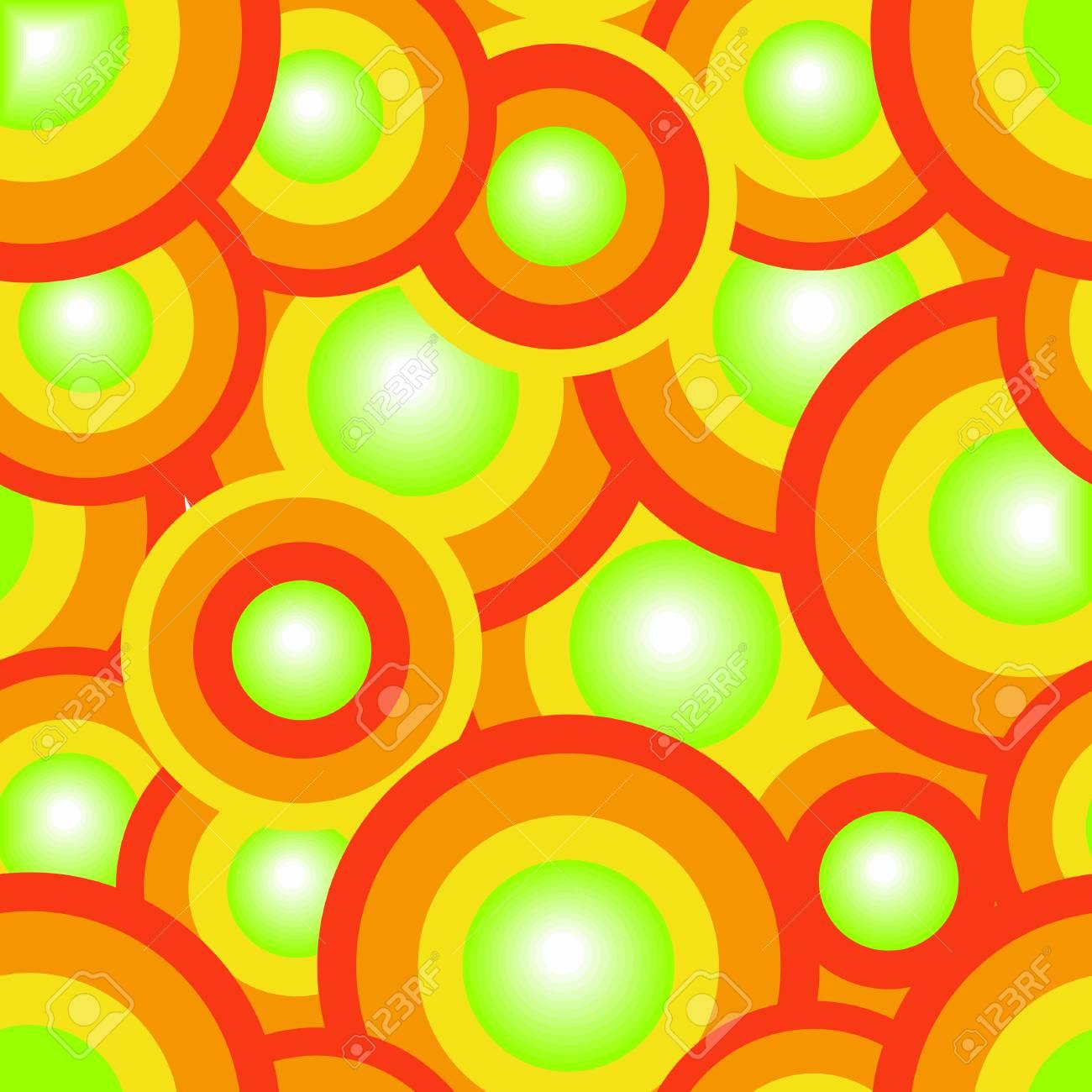 Seamless vector texture with circles Stock Vector - 3927861