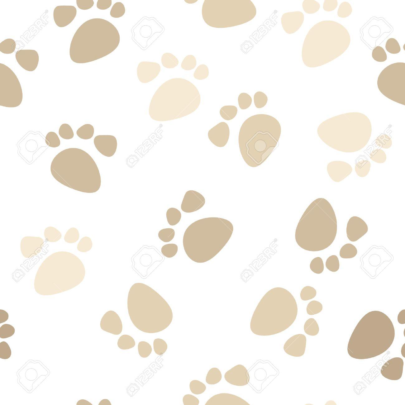 ~*Tallercito de Kiiara95*~ - Página 2 4949007-seamless-footprint-wallpaper-dog-paw-background