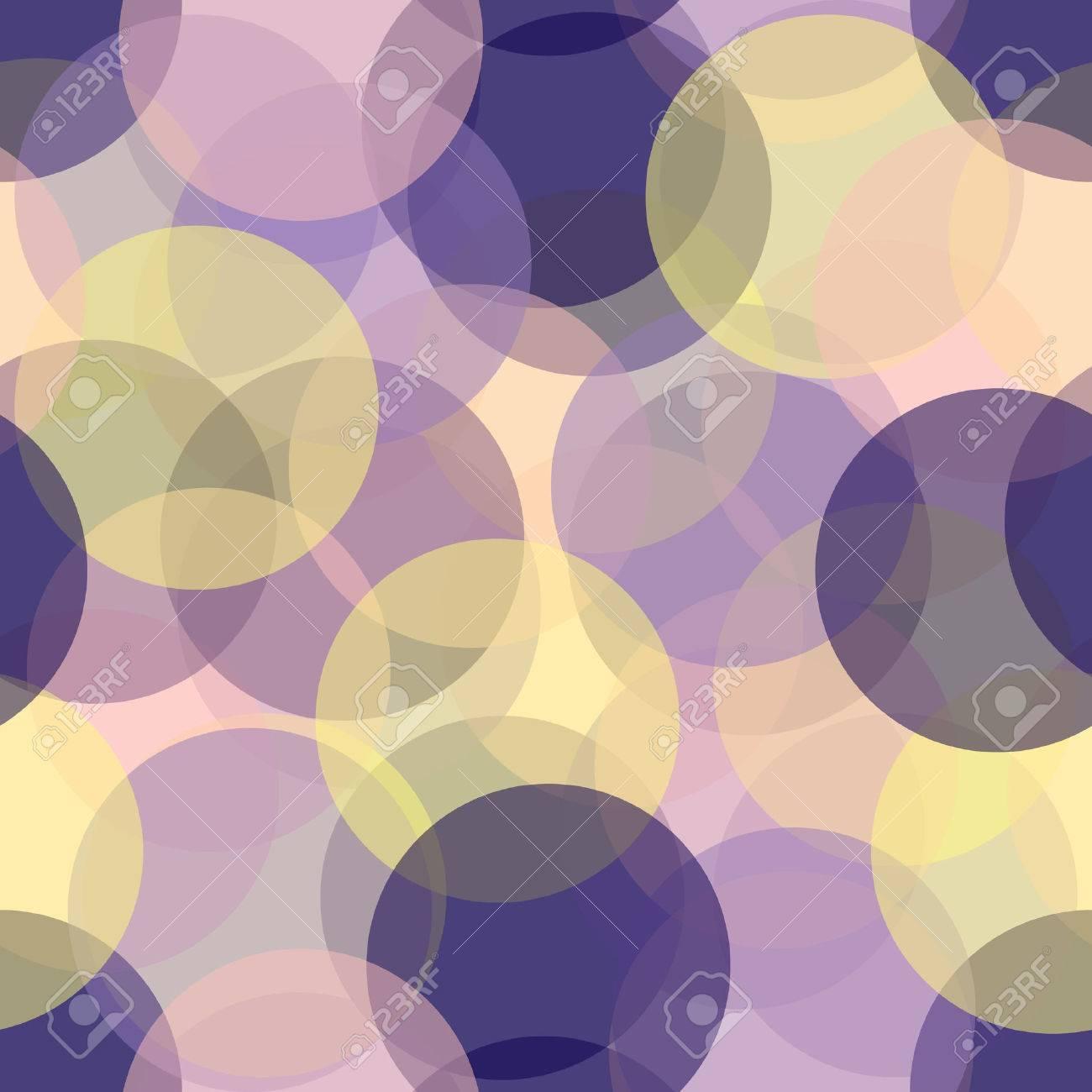 Colorful seamless circles pattern - 4948553