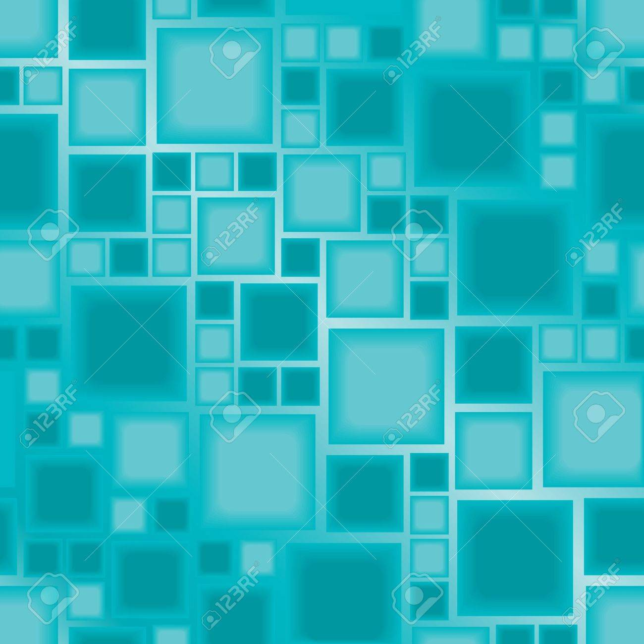 Seamless blue tile pattern Stock Vector - 5407323