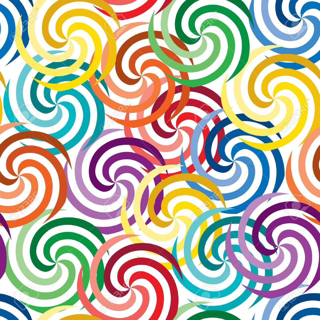 Vivid colorful repeating abstract seamless background Stock Vector - 6668646