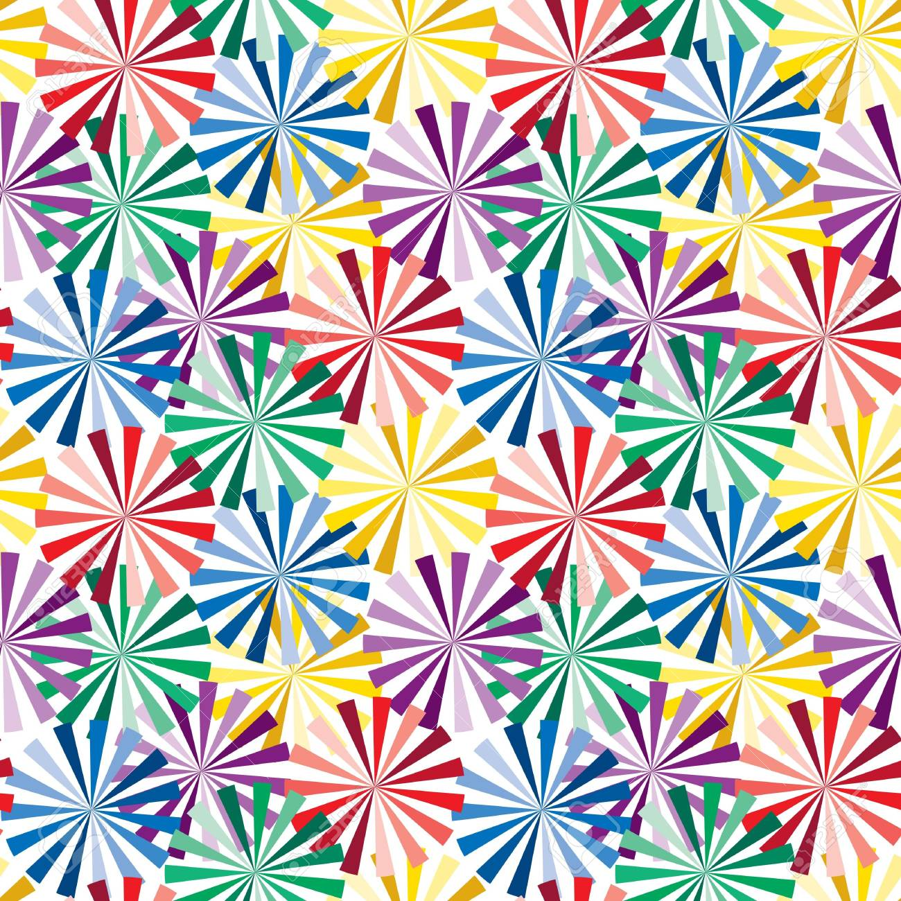 Vivid colorful repeating abstract seamless background Stock Vector - 6684836