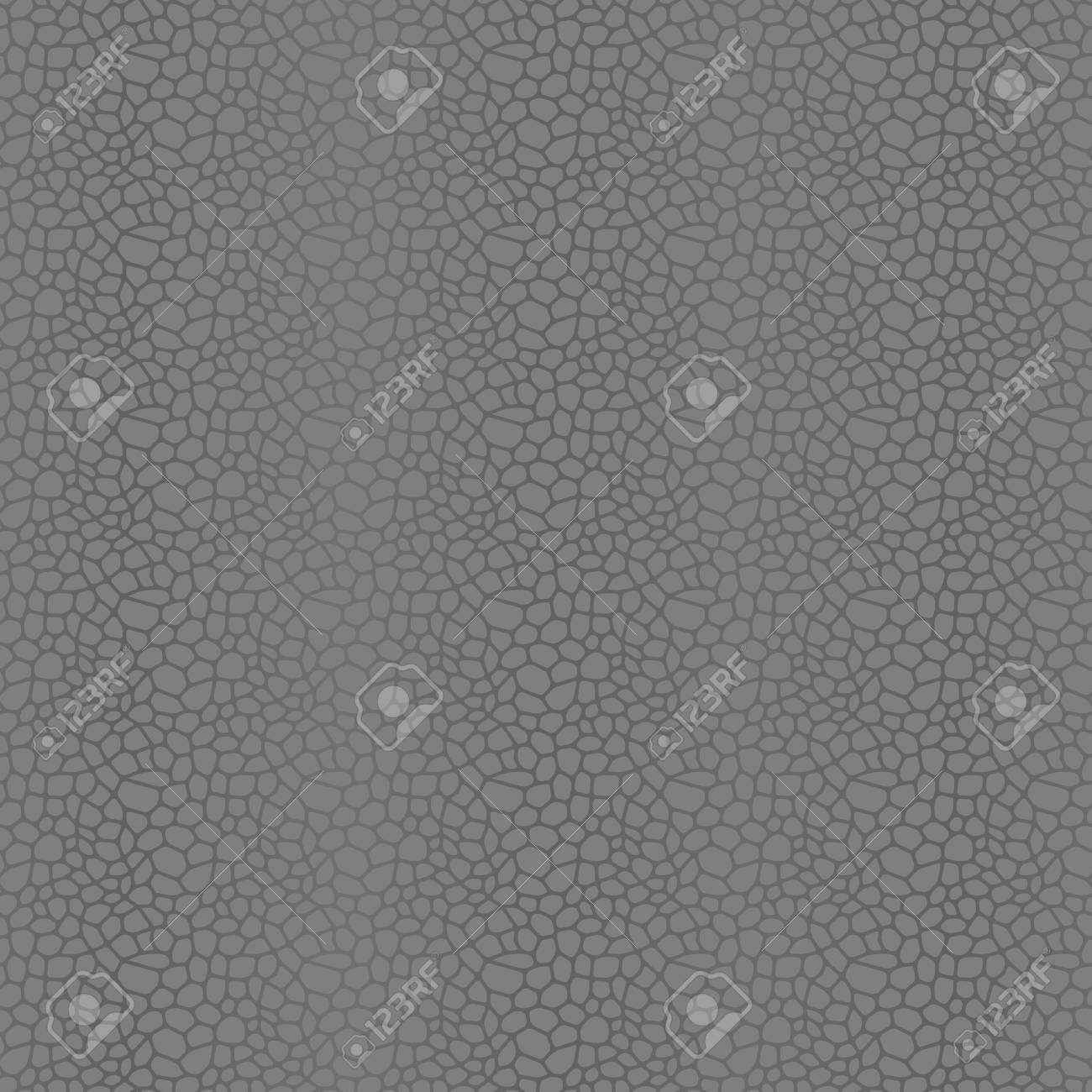 Grey Seamless Vector Leather Texture Background Pattern Stock