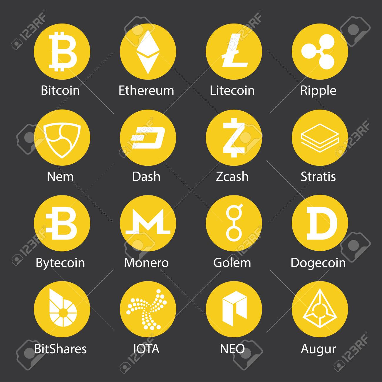 currency crypto currencies