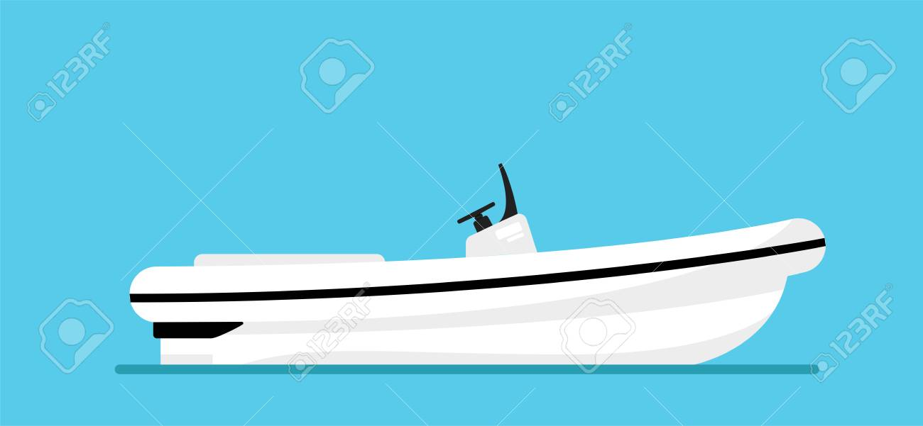 Ship at the sea, modern boat shipping in ocean  Beautiful elite,