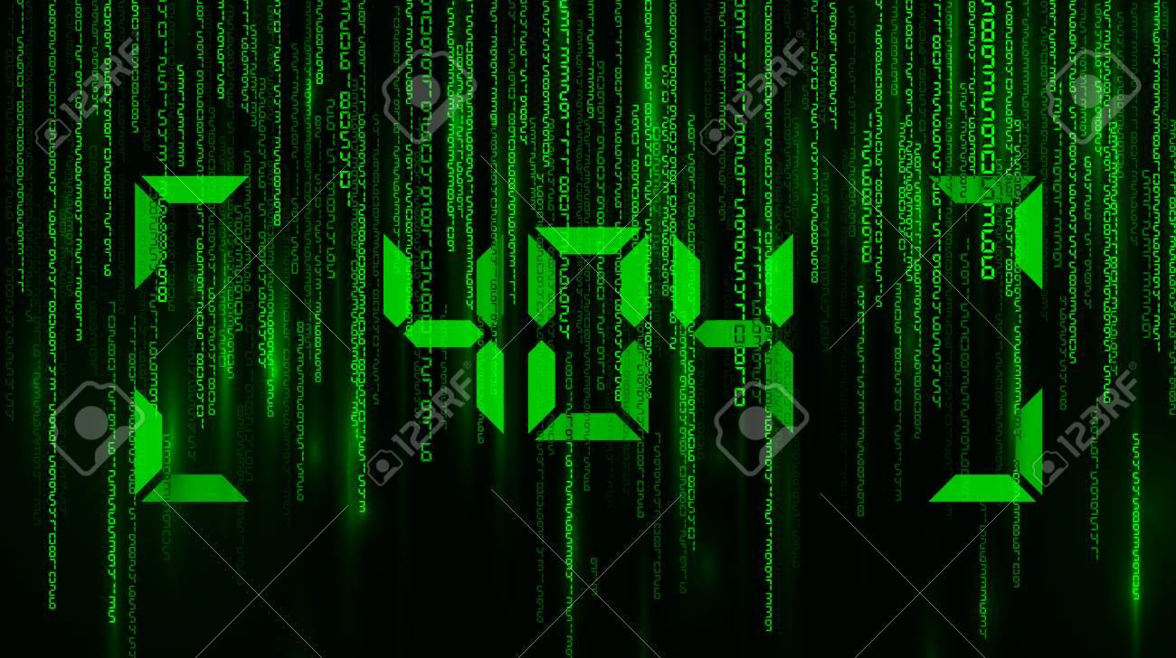 Matrix Falling Numbers Warning Error 404 Page Not Found