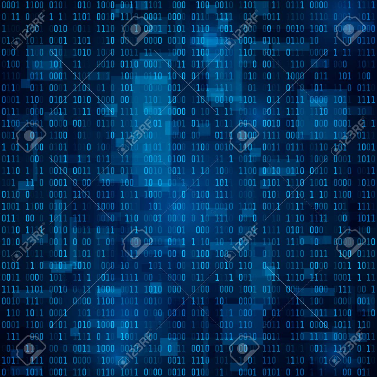 Technology abstract background  Binary code  Encryption and coding