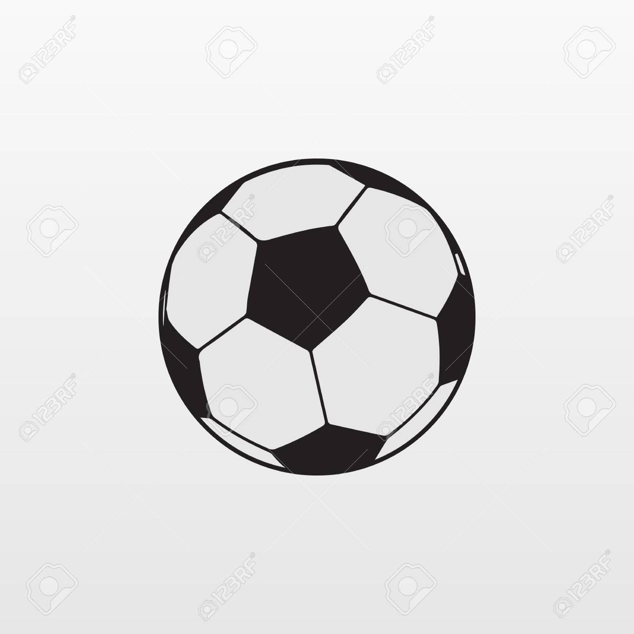 Gray soccer ball icon isolated on background modern simple flat gray soccer ball icon isolated on background modern simple flat football sign sport buycottarizona