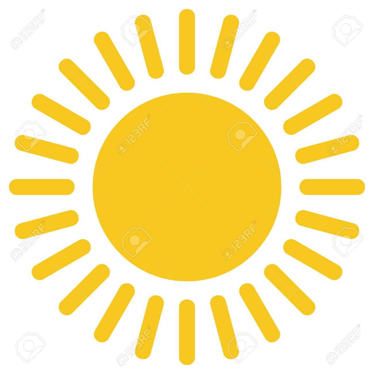 yellow gold sun icon isolated on background modern flat pictogram rh 123rf com Free Vector Textures Free Cartoon Sun