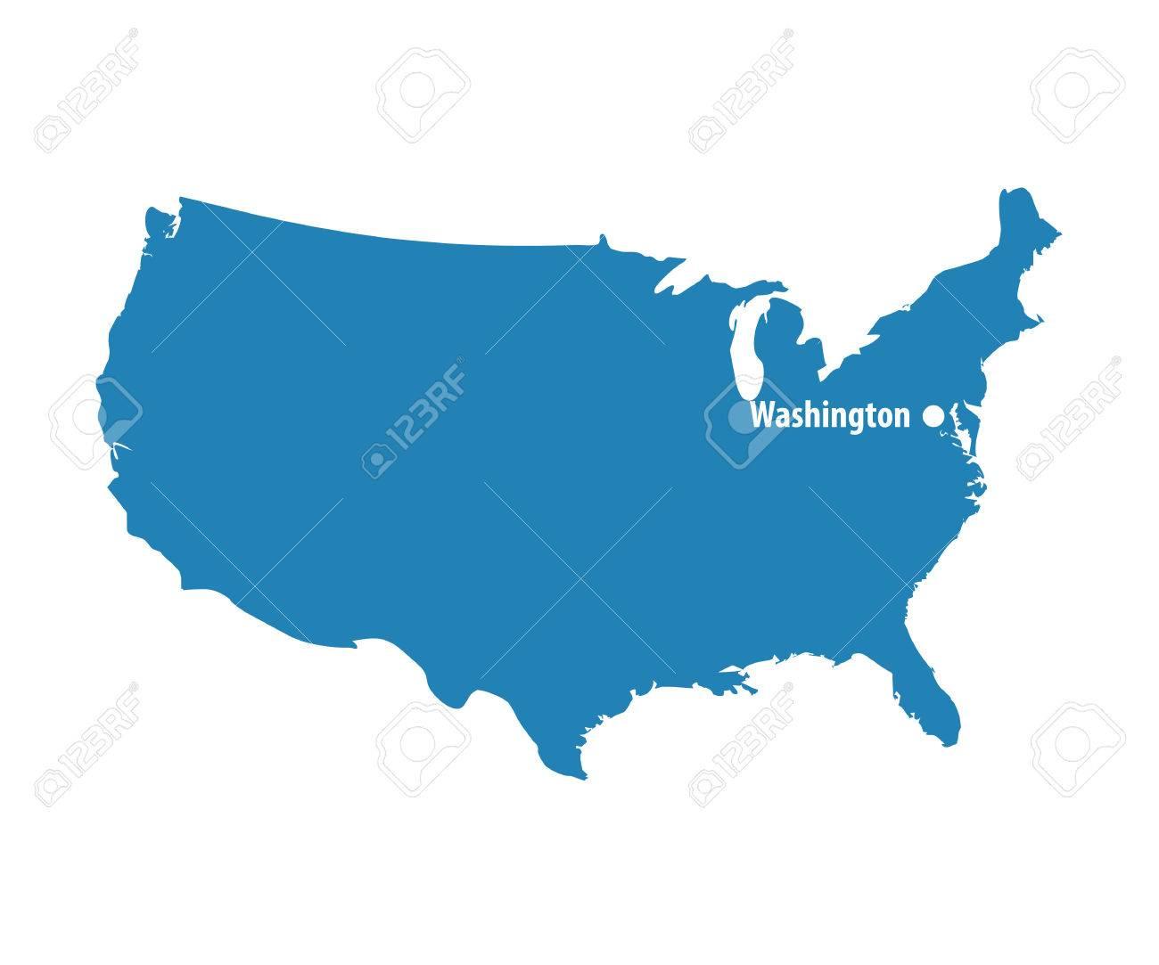 Nett Vereinigte Staaten Kartenvorlage Bilder - Beispiel Business ...