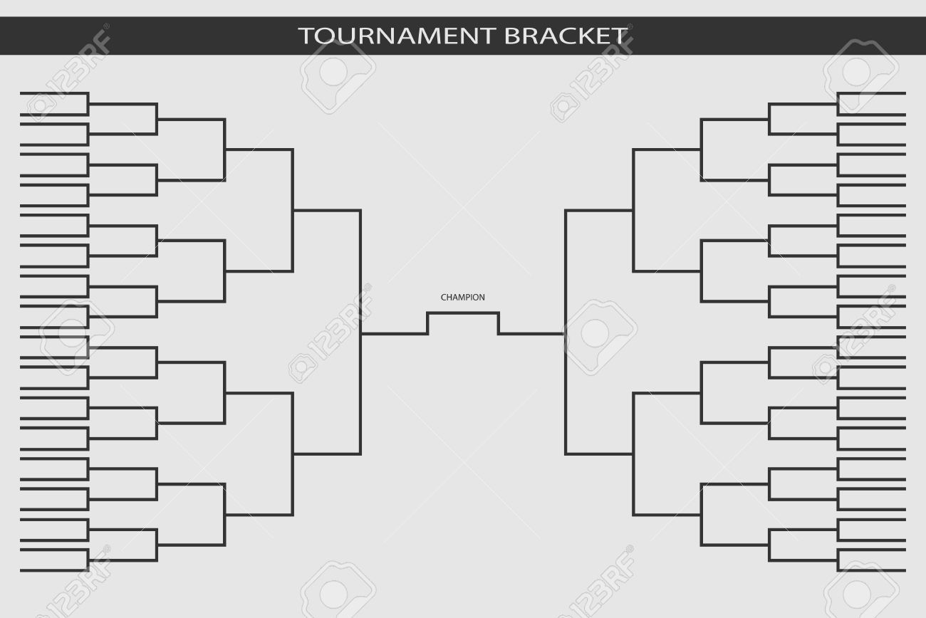 soccer baseball tournament bracket for your design champion
