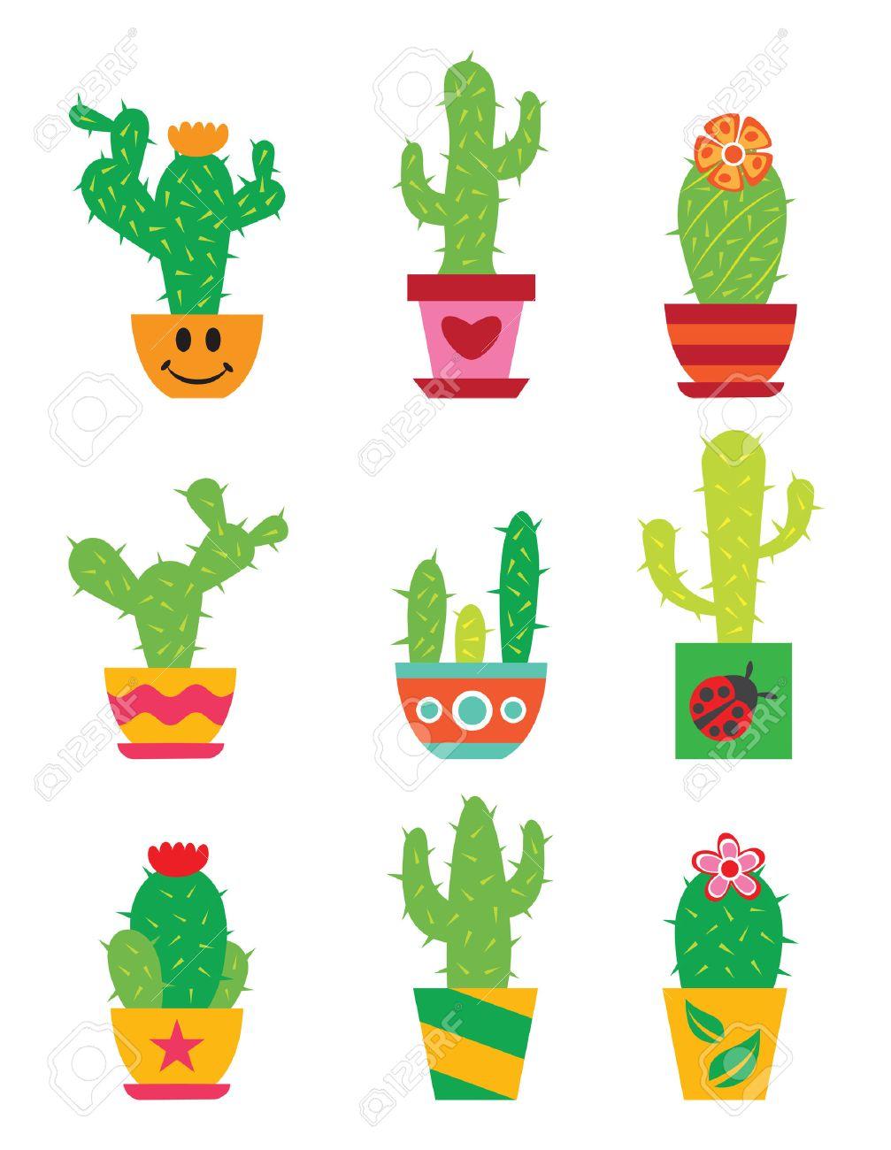 Cactus set - 23660611