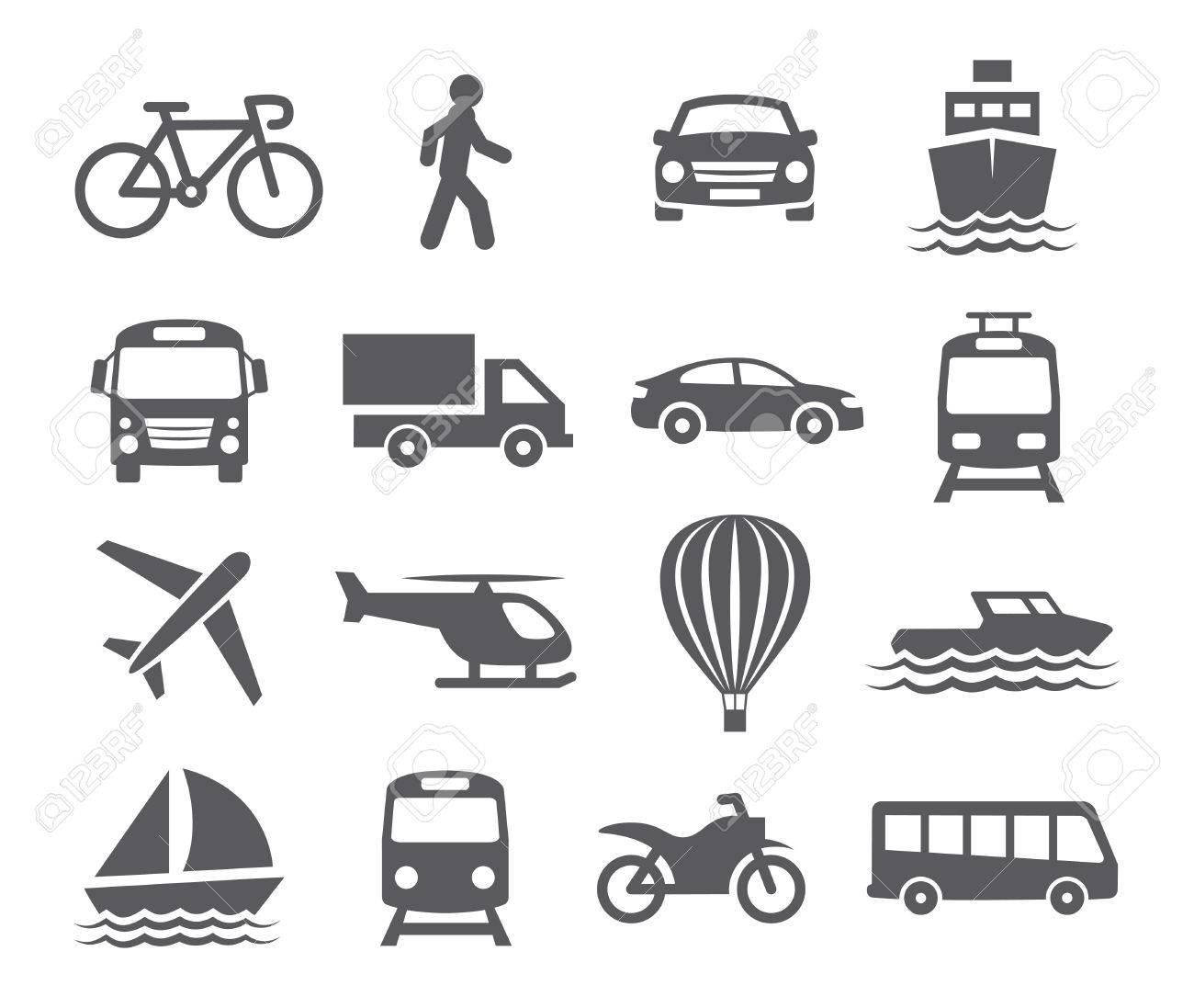 Transport icons - 38278988