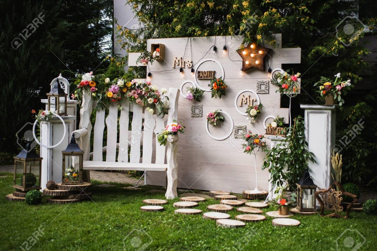Decoración Matrimonio Rustico : Hermosa decoración de boda inusual estilo rústico fotos retratos