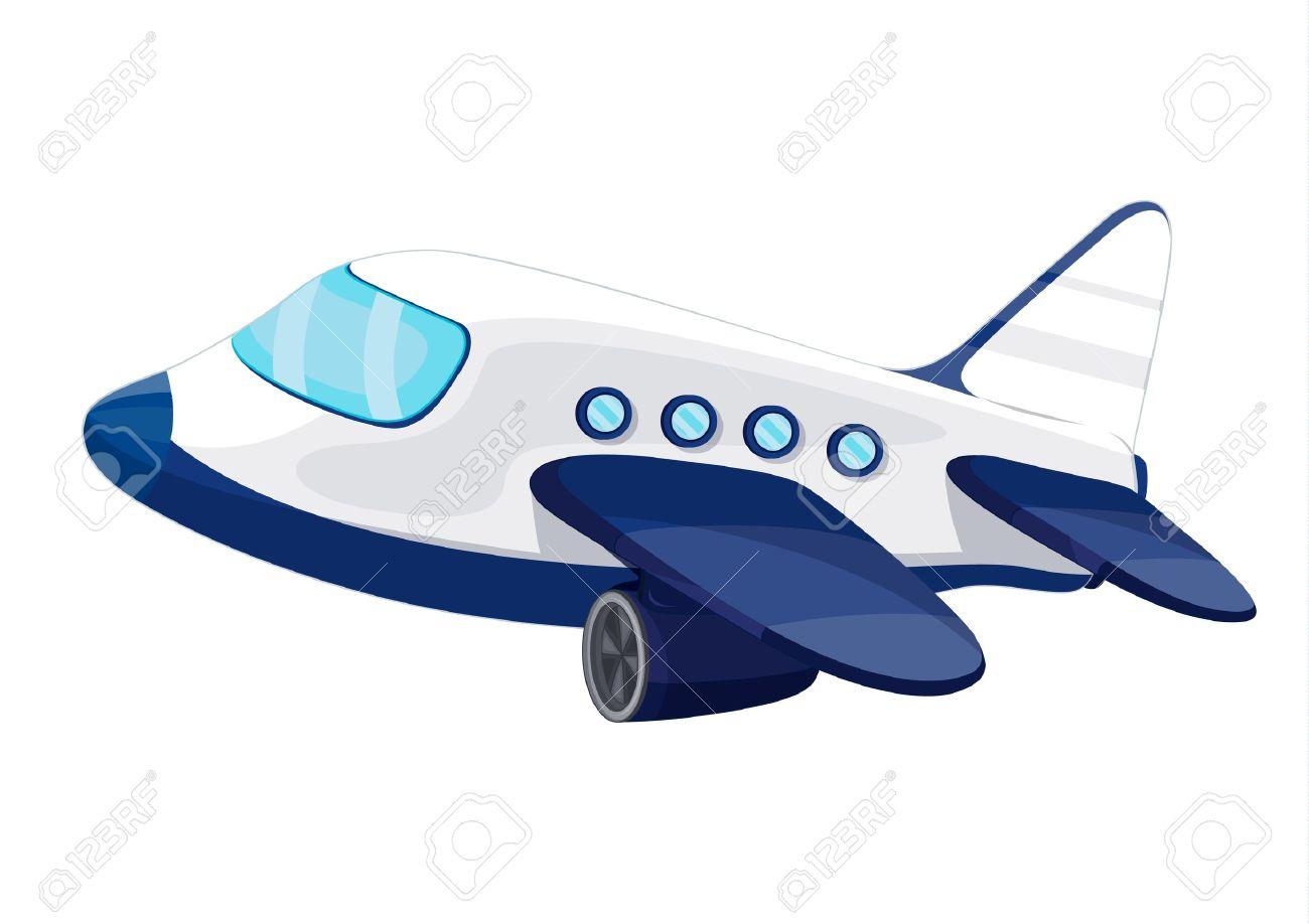 Plane Tickets Cartoon Jet Plane Plane Cartoon