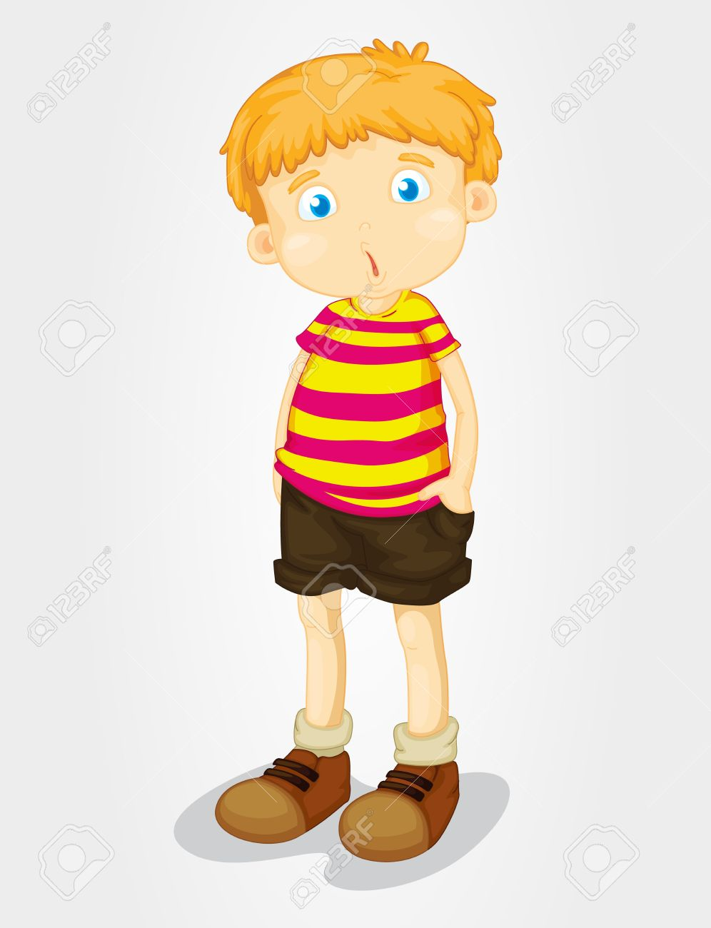 isolated young boy with puzzled expression royalty free cliparts rh 123rf com little drummer boy clipart little boy peeing clipart