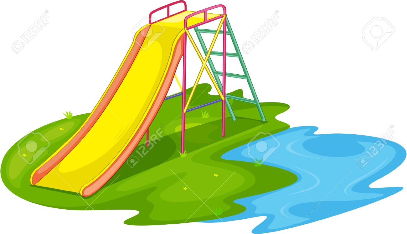 Illustration of an empty playground Stock Vector - 13233416