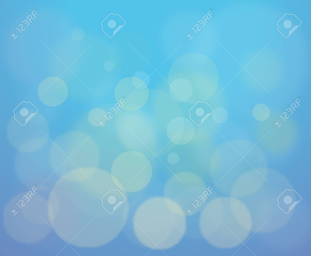Illustration of blury shapes abstract background Stock Vector - 13494127