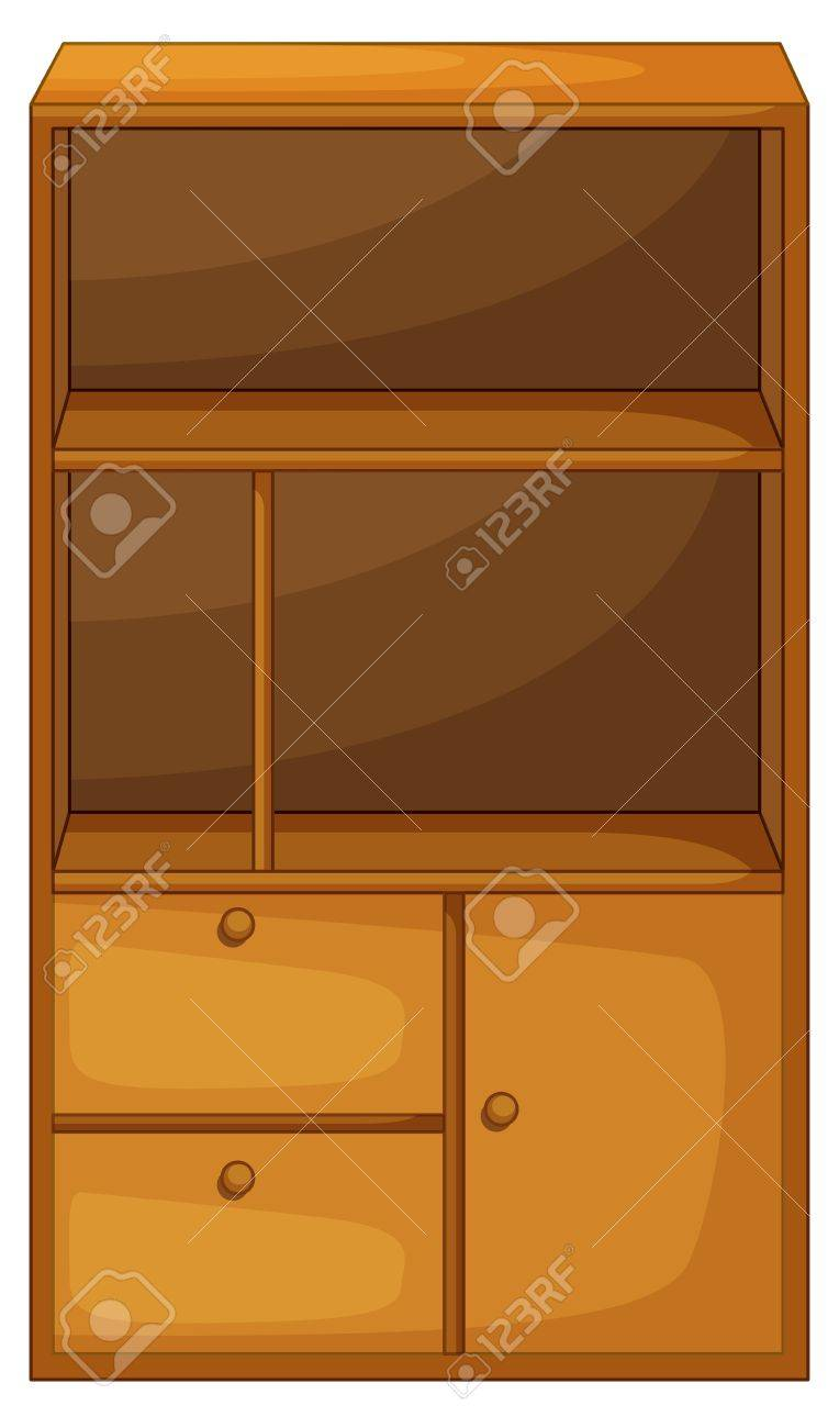 Illustration of isolated piece of furniture Stock Vector - 13493998