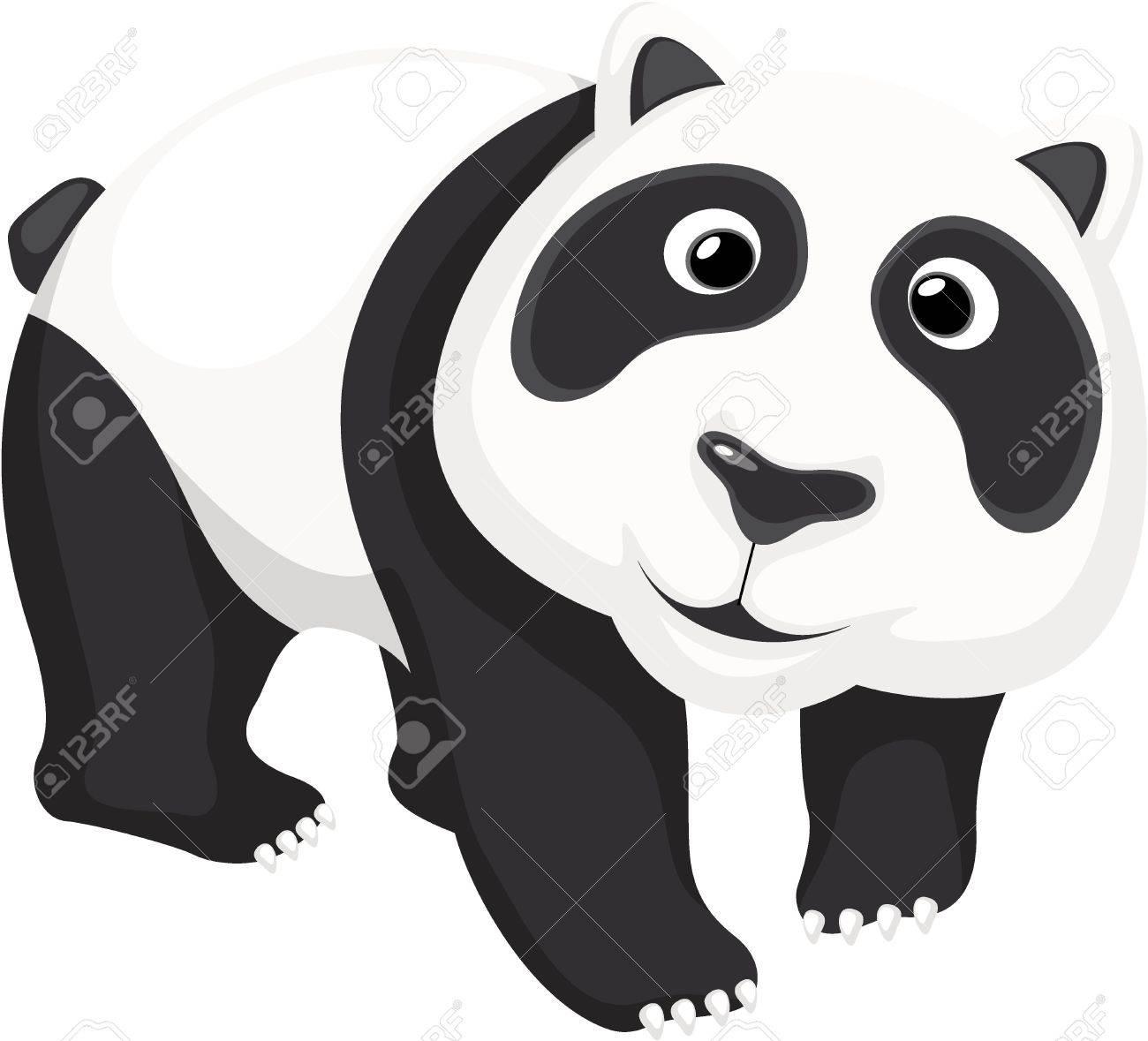 Illustration of a cute panda bear Stock Vector - 13494300