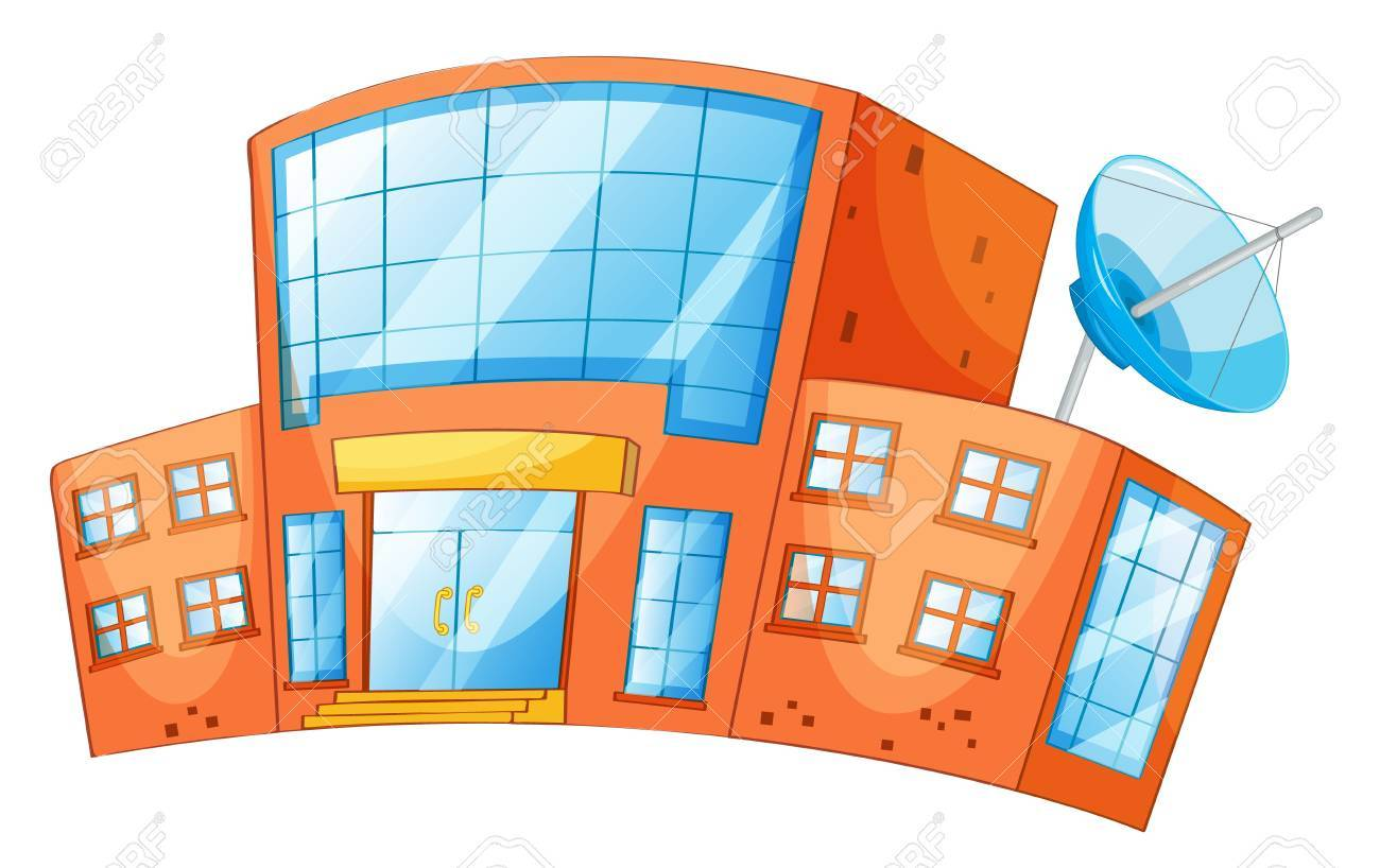 illustration of an isolated building Stock Vector - 13700069