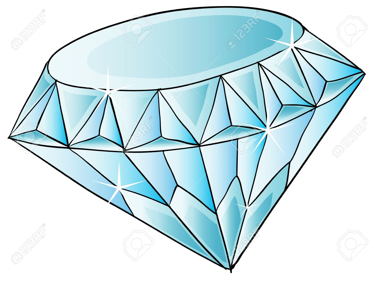 illustration of a diamond jewel royalty free cliparts vectors and rh 123rf com jewel clipart sapphire jewel clipart