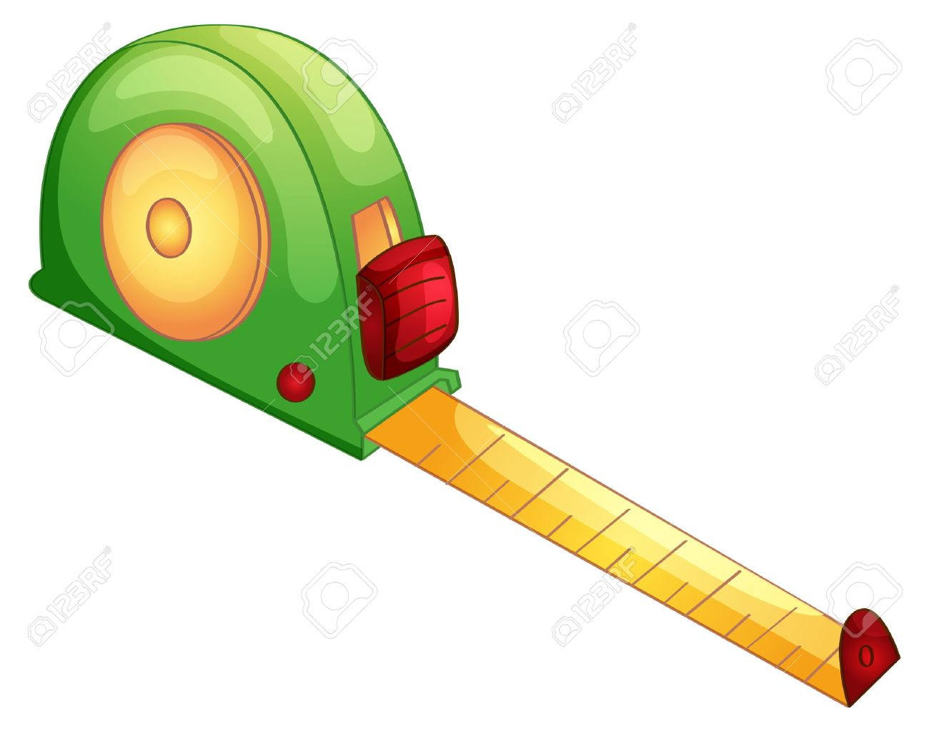 Illustration of a tape measure Stock Vector - 13988516