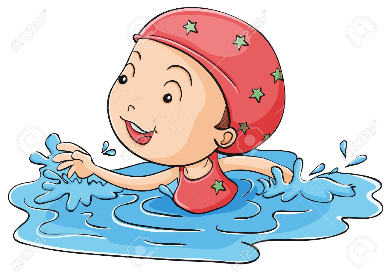Image result for swimmer cartoon