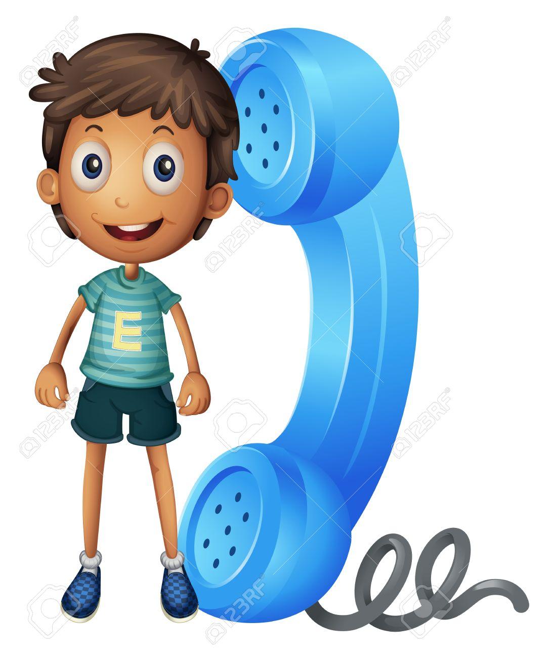 Resultado de imagen de niño con telefono