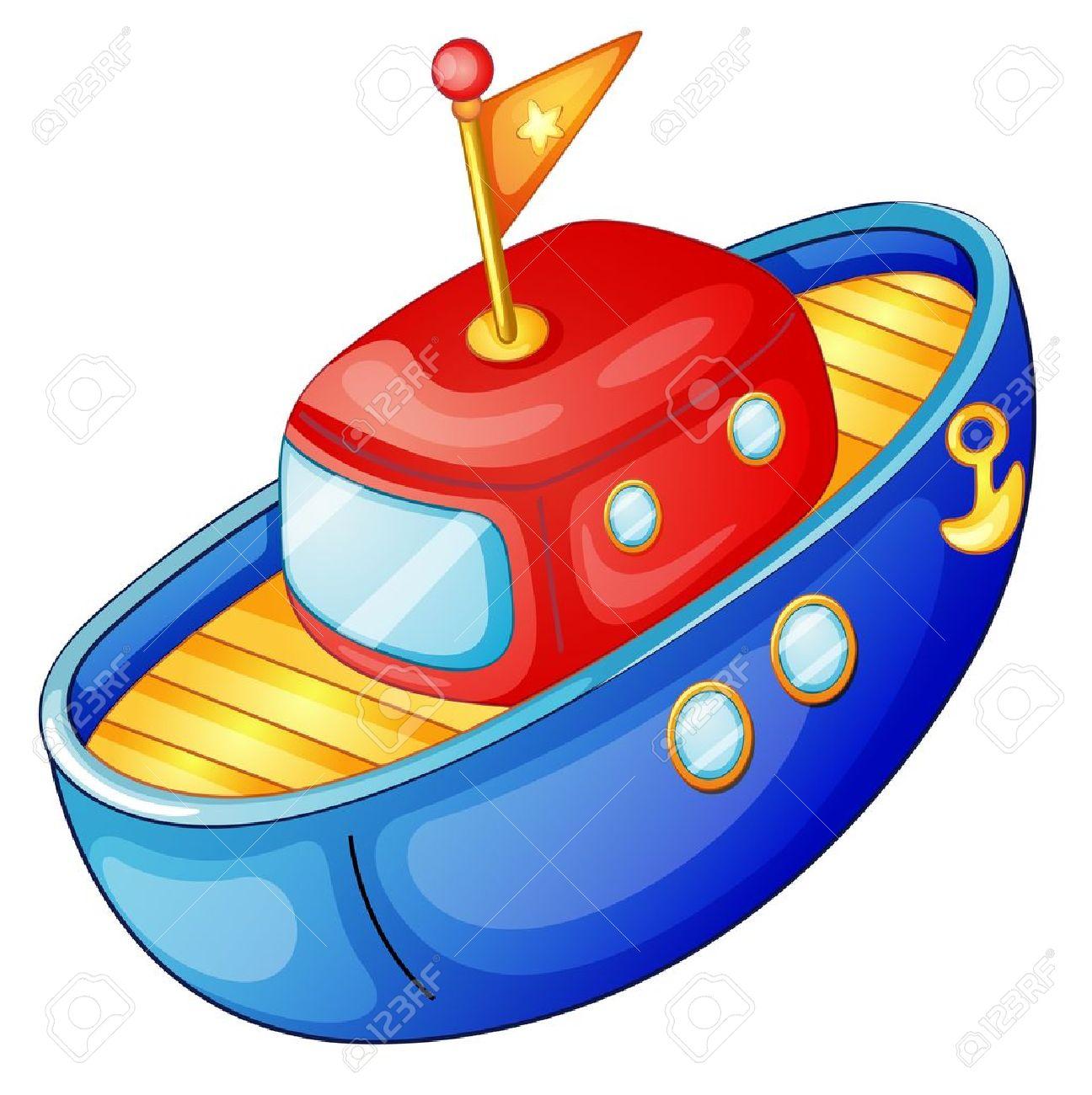 картинка для детей лодка на прозрачном фоне