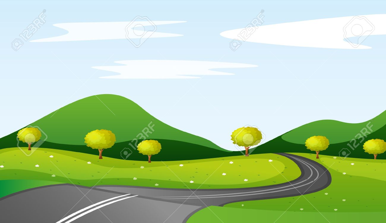 Winding Path Illustration winding roads illustration of