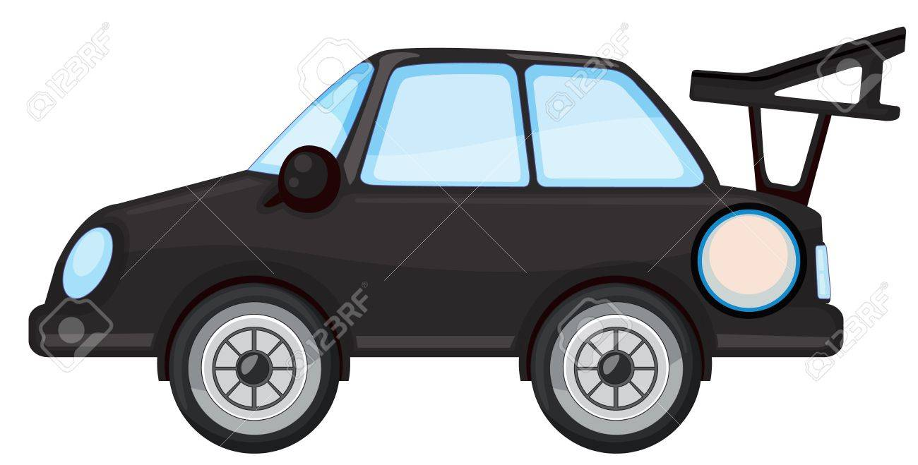 illustration of car on a white background Stock Vector - 15249923