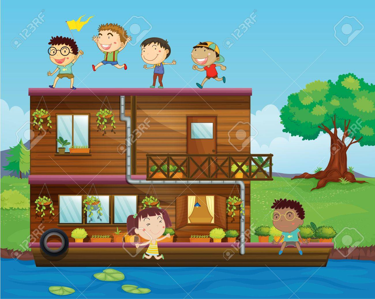 Houseboat Images Houseboat Images Stock Pictures Royalty Free Houseboat Photos