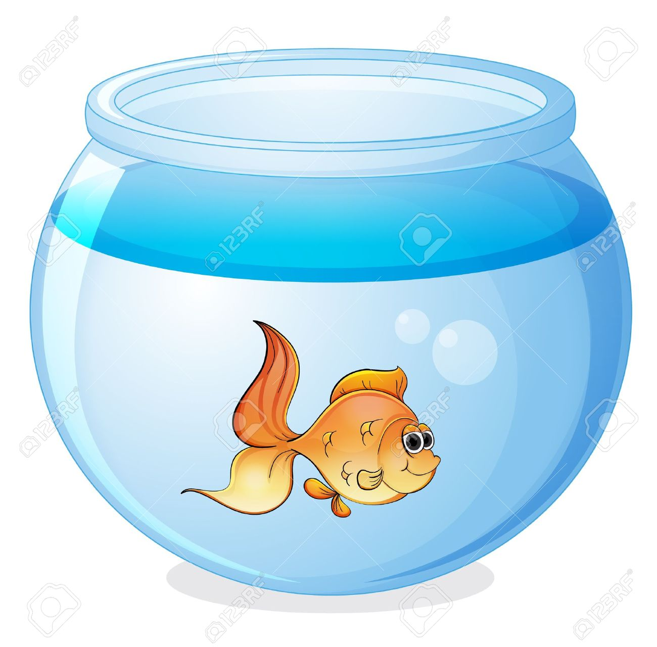 illustration of a fish and a bowl on a white background royalty free cliparts vectors and stock illustration image 16115592 illustration of a fish and a bowl on a white background