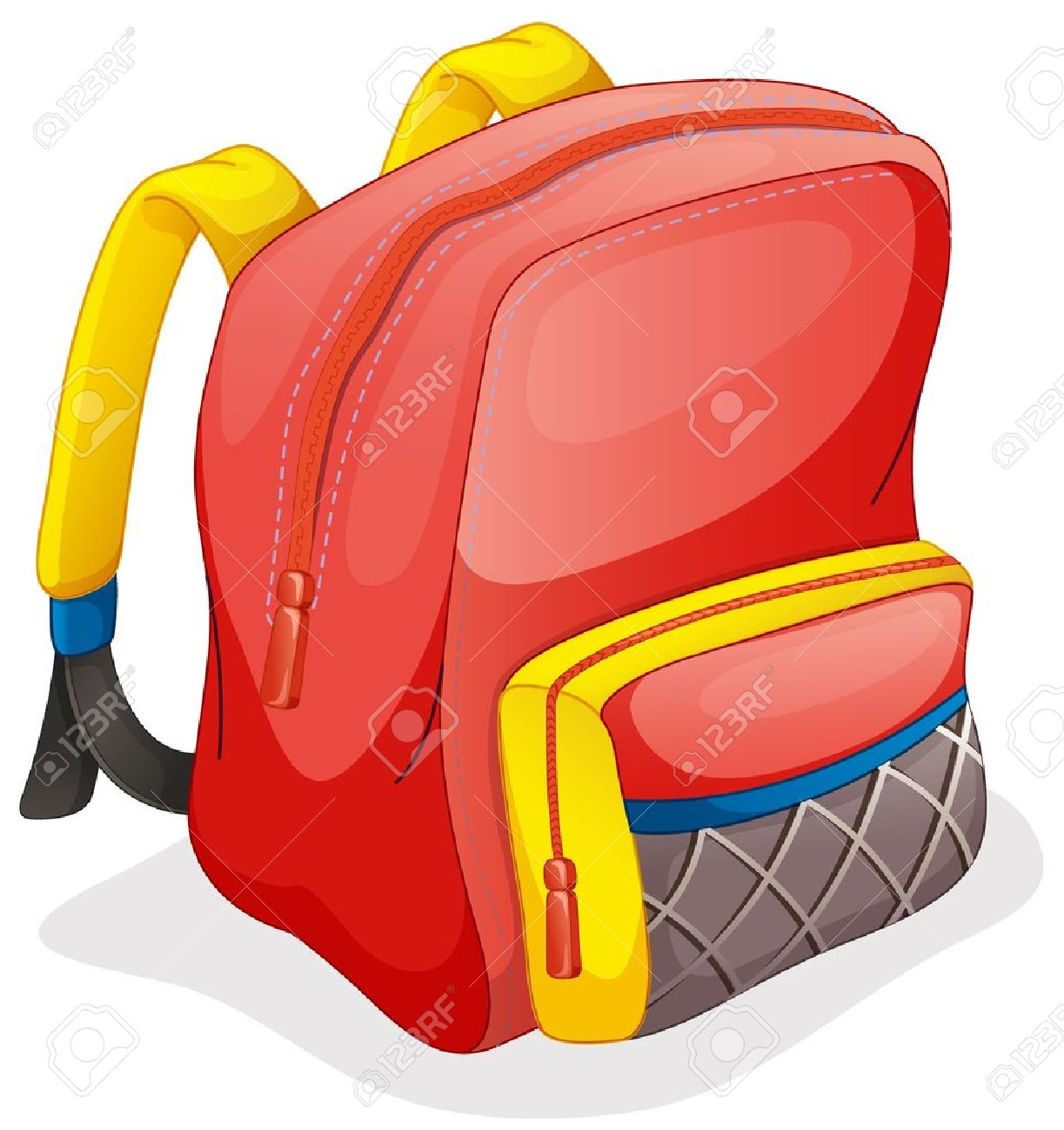 illustration of a school bag on a white background royalty free rh 123rf com how to insert clipart without white background how to insert clipart without white background