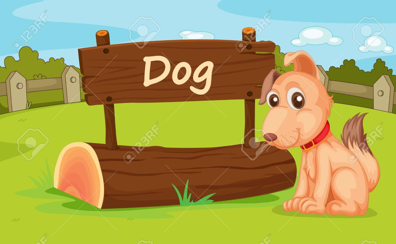Illustration of animal enclosure at the zoo Stock Vector - 16117178