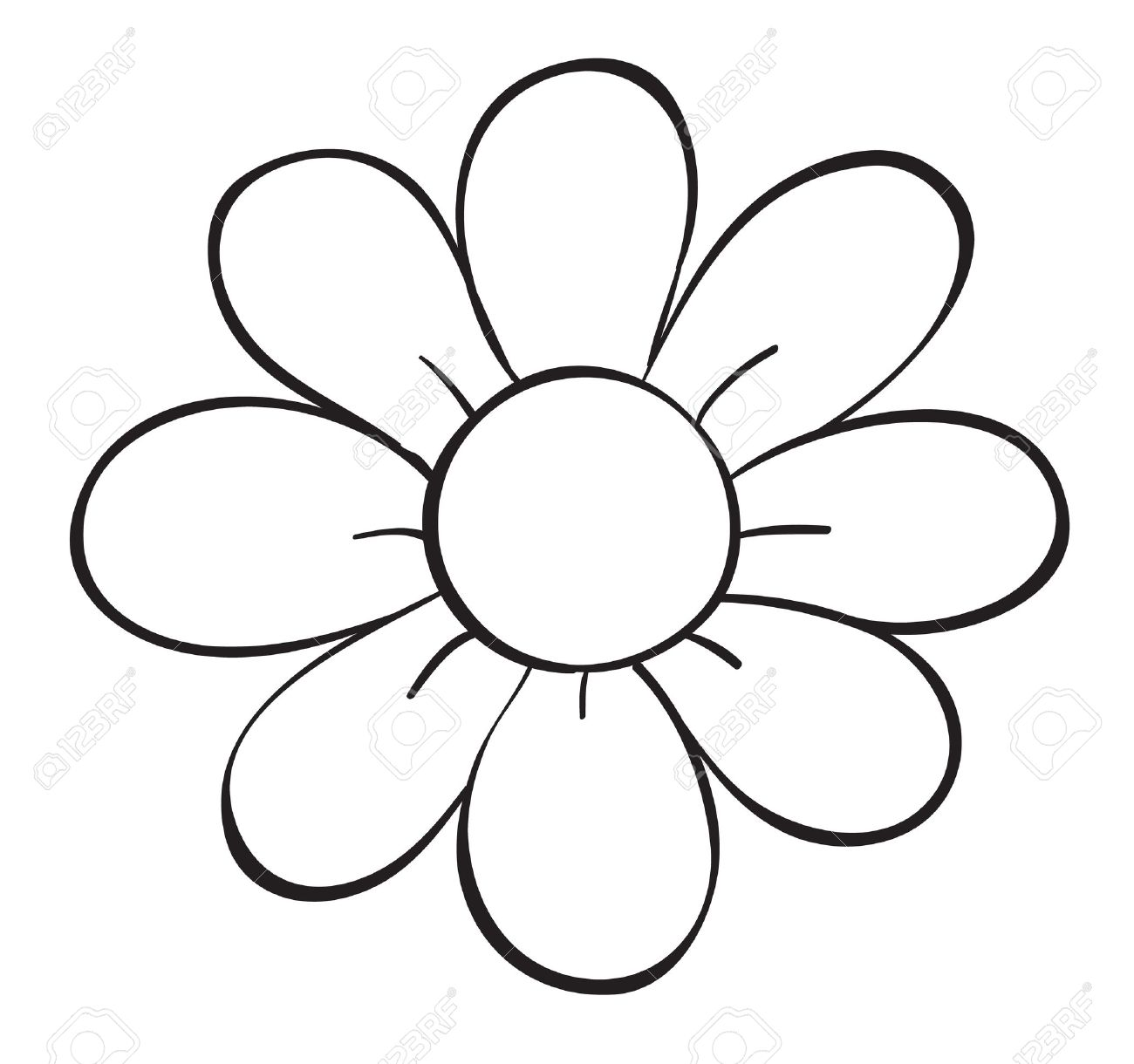 Illustration of a flower sketch on white background royalty free illustration of a flower sketch on white background stock vector 16105523 mightylinksfo