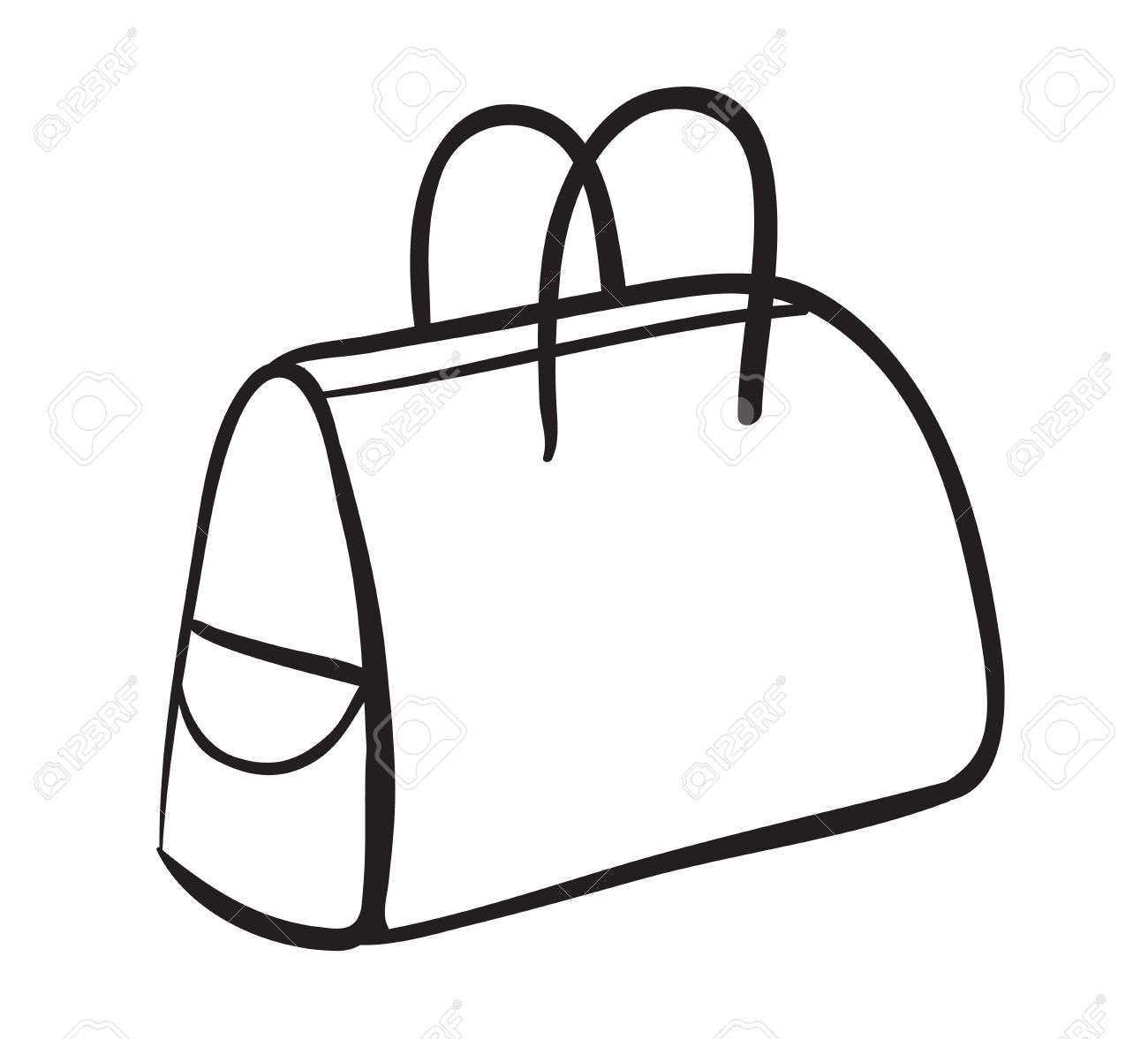illustration of a purse on a white background royalty free cliparts rh 123rf com purse clipart free purses clipart pinterest