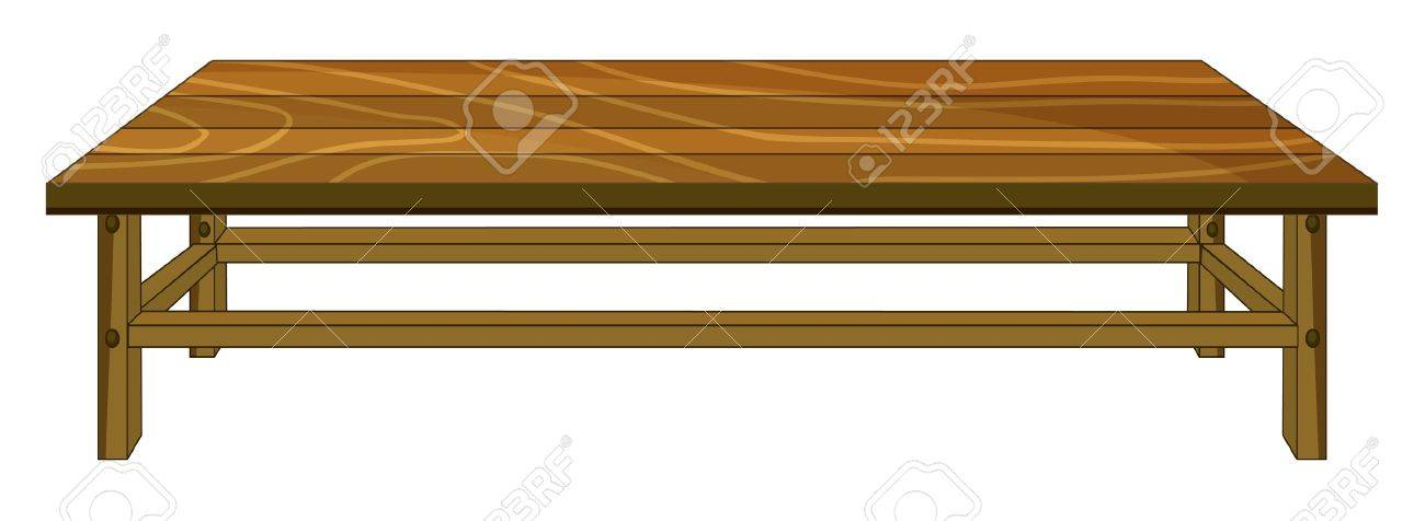 illustration of a table on a white background Stock Vector - 16450845