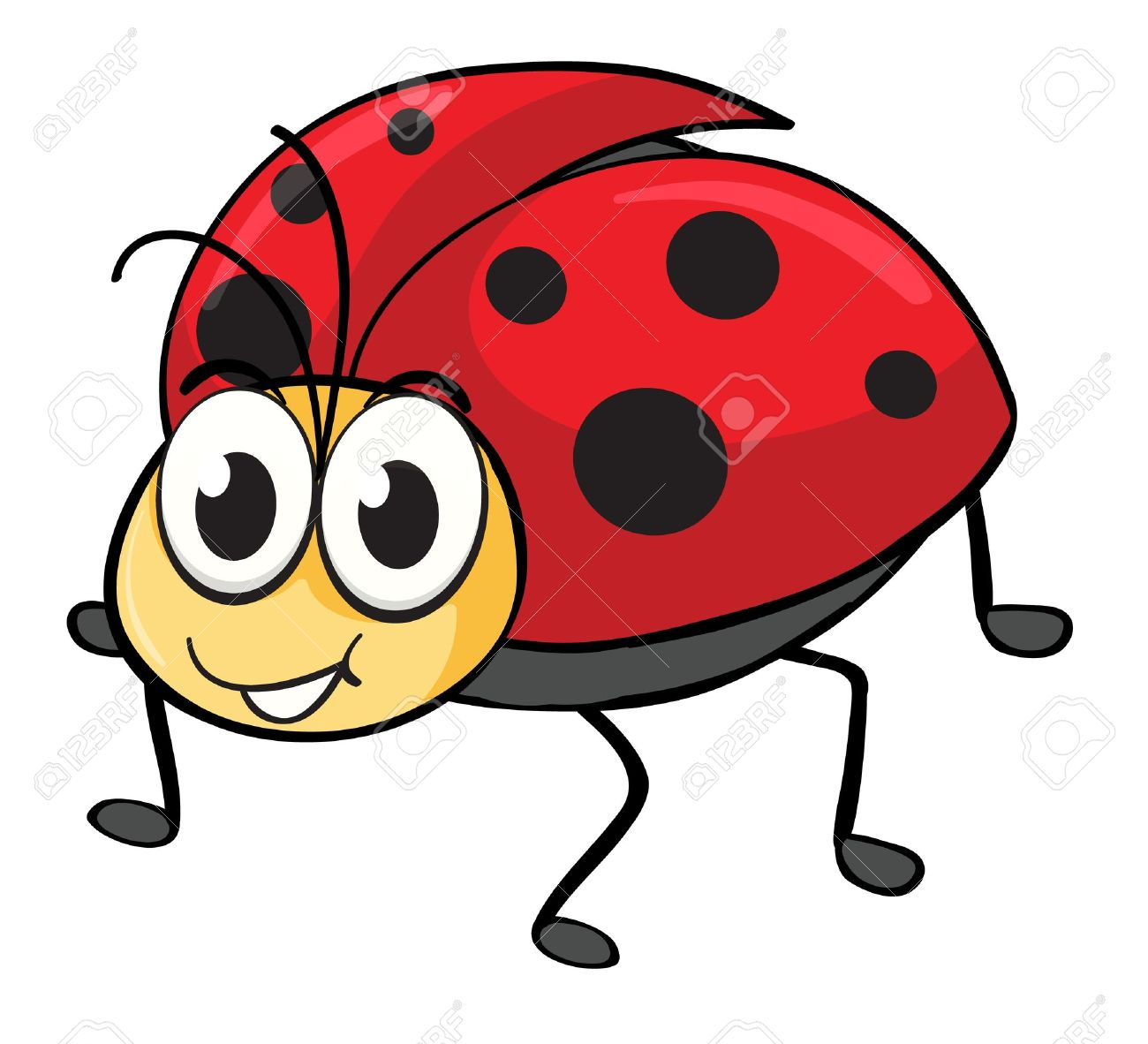 Ladybug Cartoon Stock Photos Images. Royalty Free Ladybug Cartoon ...
