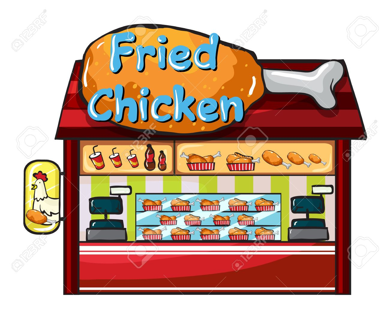 Fancy restaurant buildings clip art - Jpg 1300x1059 Fast Food Restaurant Backgrounds