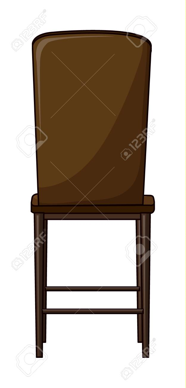 Illustration of a chair on a white background Stock Vector - 17024610